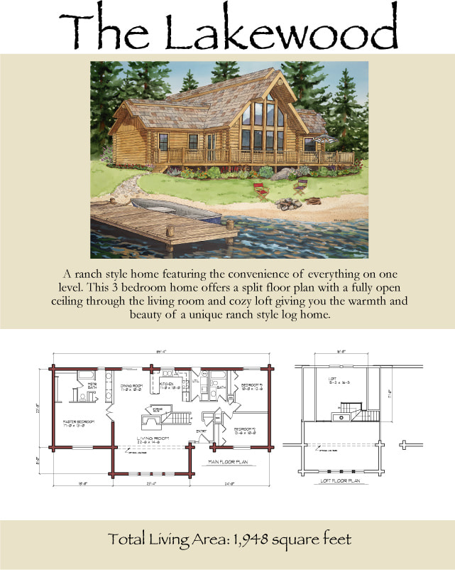 The Lakewood Cabin builder in Bear Lake